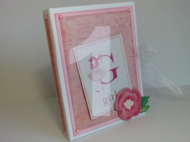 Tutorial - Capa para Bloco - Notebook Holder (scrapbooking) - Parte 1