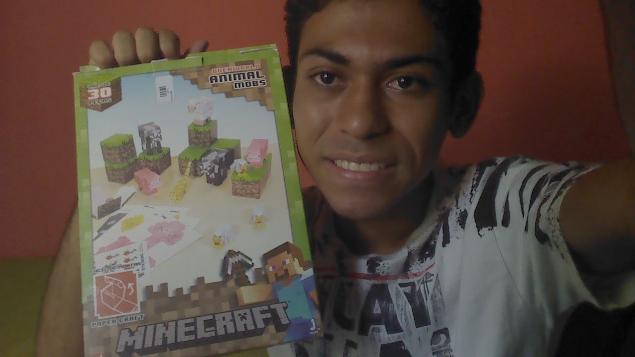 Unbox do paper craft e avisos