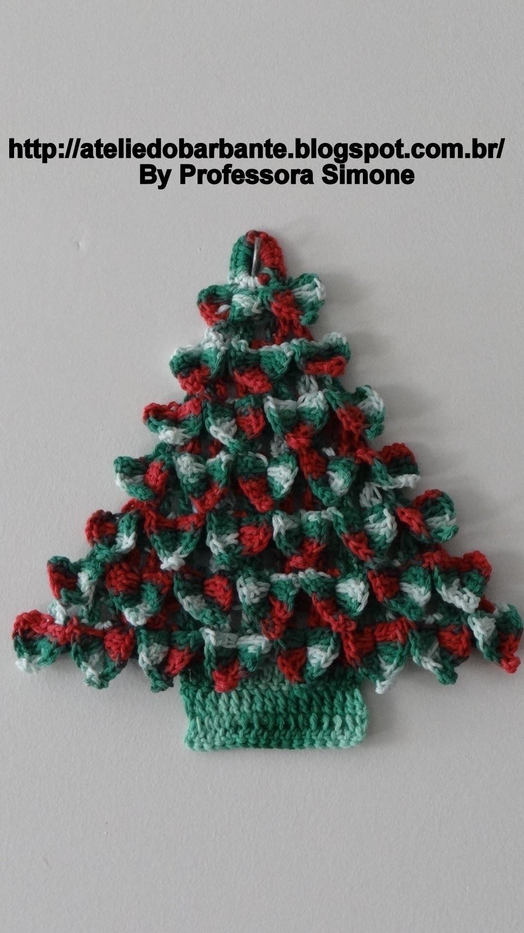Árvore de Natal em Crochê Parte -1