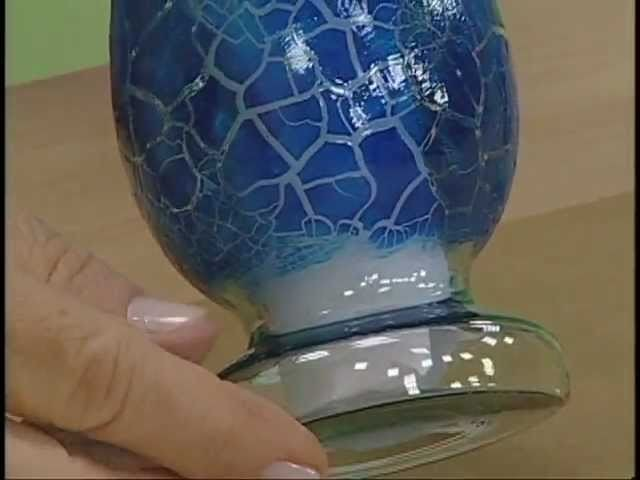 Caixa e vaso craquelê - Artesanato - Acrilex