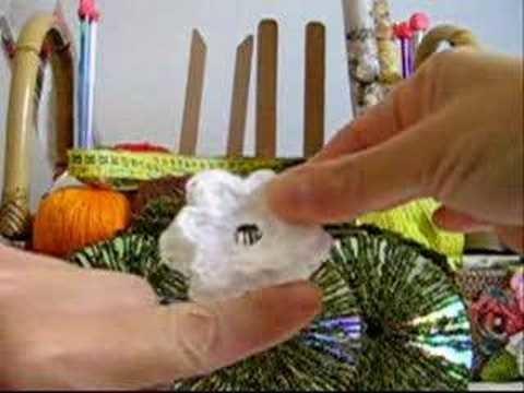 Crochê Tradicional - Bolsa de CD's Estruturada - Parte XVI