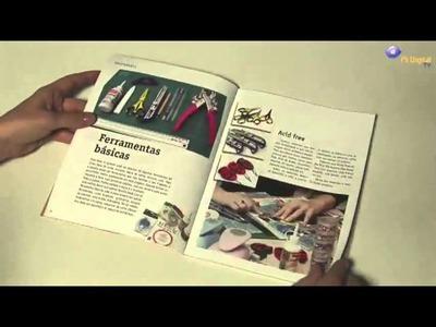 Lançamento do livro 'Mini Projetos de Scrapbook 2'.wmv