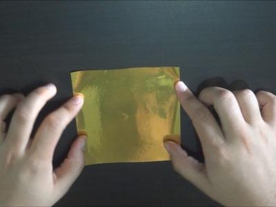 Marcador de Livro - Origami de Tsuru