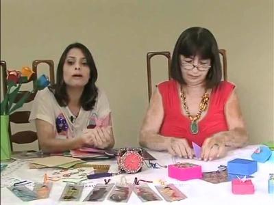 Origami - Carmen Bridi - Programa Terra Capixaba 14-05-2011