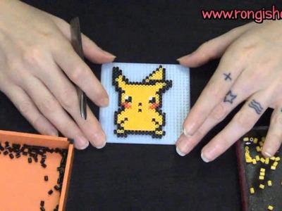 Pixel Art: como fazer um Pikachu em 8 bit (beads)
