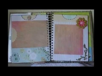 Scrapbook - Álbum 9 - Handmade with love by Dorothéa Matczak