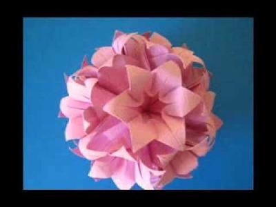 A delicadeza do Origami e da arte em papel.WMV