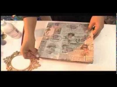 Arte Fácil - Caixas Vintage - Hora de Arte