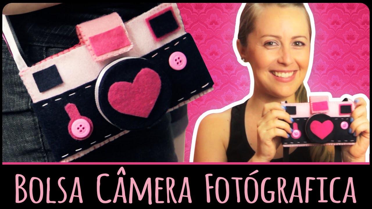 Bolsa Câmera Fotógrafica =DiY