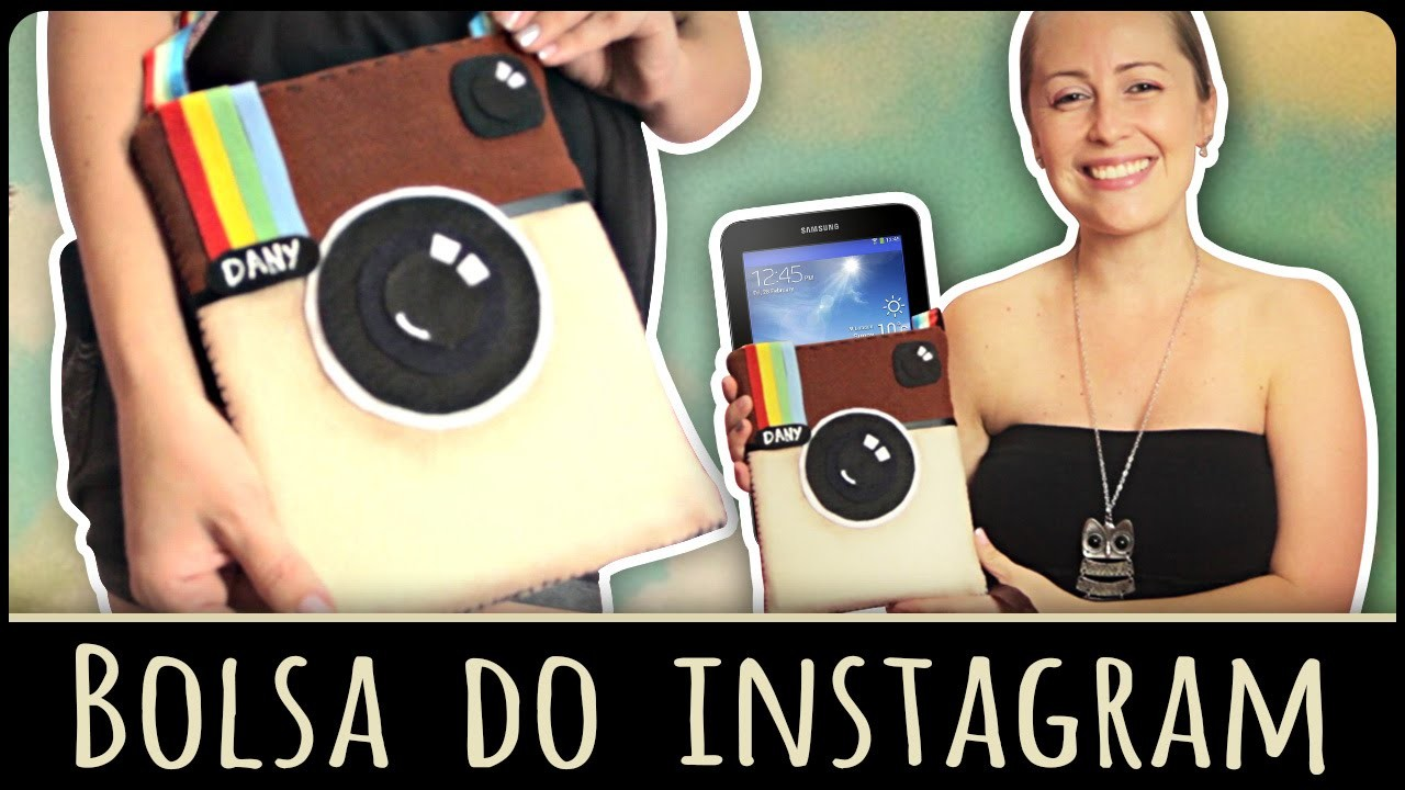Bolsa do Instagram =DiY