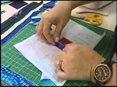 Capa Tablet.Notebook em Log Cabin:Patchwork Ana Cosentino(Ateliê na Tv)