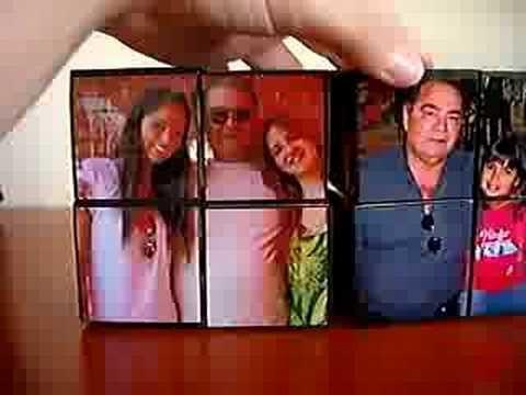 Cubo Mágico de Fotos (Personalizado)