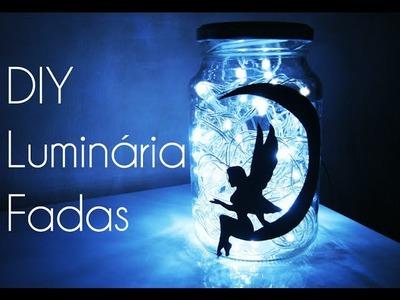 ★ DIY: Como Fazer Luminária de Fada para Decorar seu Quarto ★(Fairy Lights Jar)