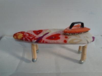 DIY - Como fazer um ferro e uma tábua de passar para bonecas