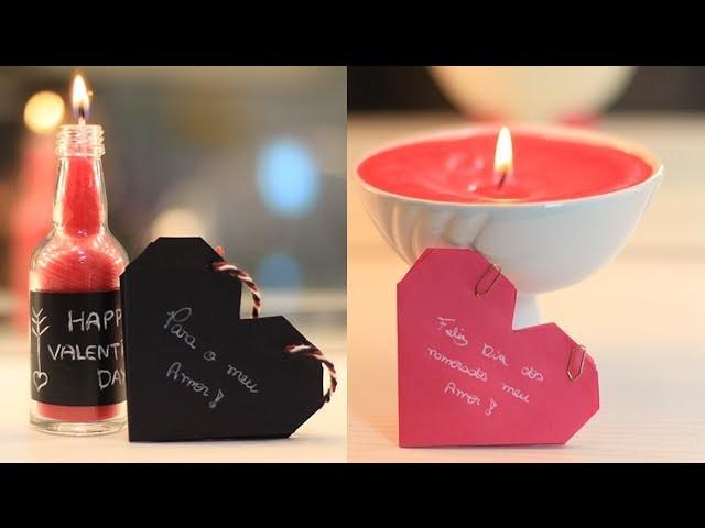 DIY: Velas caseiras | Presente Dia dos Namorados