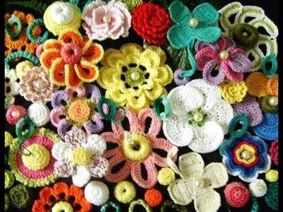 Flores em croche 2 by Edinir Croche (HD)