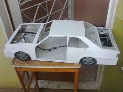 Miniaturas de carros chevette part 1