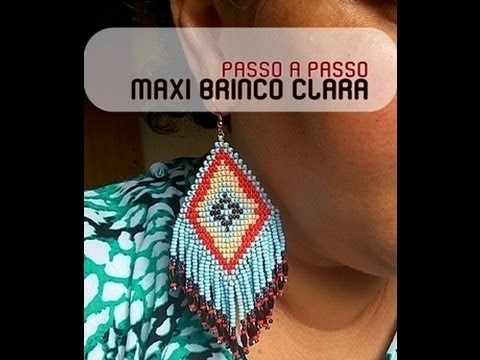 NM Bijoux - Maxi Brinco da Clara - Passo a Passo