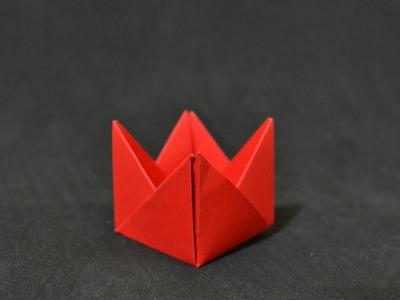 Origami: Forminha para doces