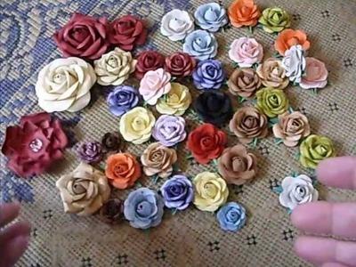 Rosas para Scrapbook.