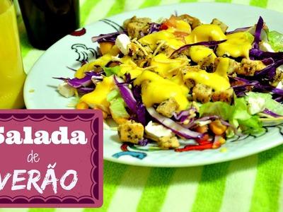 Salada de verão receita (summer salad) | Avental com Farinha #19