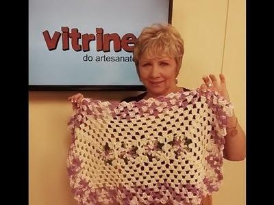 Tapete em crochê com Vitoria Quintal e Dália com Zilda Mateus | Vitrine do artesanato na TV
