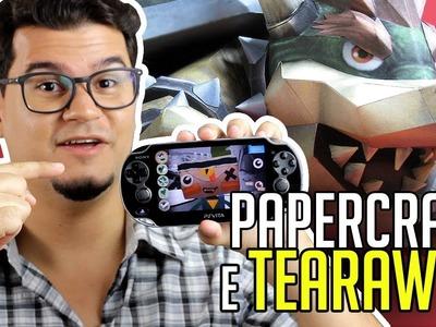 Vlog | Papercraft e Tearaway