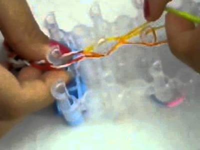 Como fazer pulseira.pulseira dupla.colar com elasticos - BEM EXPLICADO