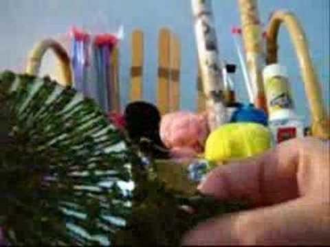 Crochê Tradicional - Bolsa de CDs Estruturada - Parte 10
