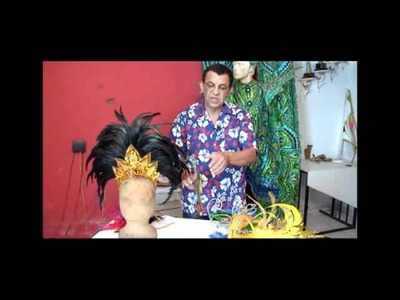 Designer dá dicas de enfeites de cabelo para compor look no carnaval