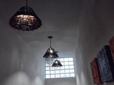 DIY cúpula de abajour ou luminária
