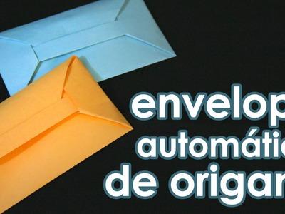 Envelope automático de origami