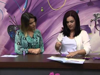 Mulher.com 05.11.2013  - Sapatinhos de Bebe - Jaqueline Santos (Bloco 1.2)