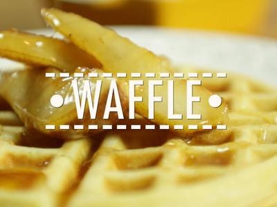 Receita do Melhor Waffle que Você já Comeu l Café da manhã l Gourmet a Dois