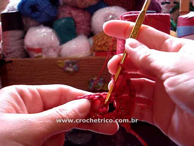 Crochê - Tapete Natalino em Barbante - 01.02