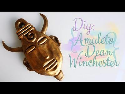 DIY: Amuleto do Dean Winchester (Decoração) - Supernatural