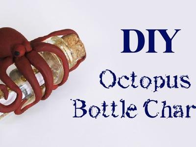 DIY: Octopus Bottle Charm (Polvo no Potinho - Message in the Bottle)