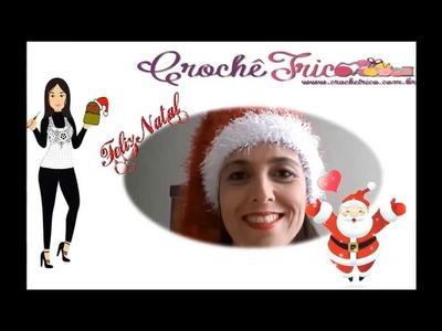 Feliz Natal de Crochê Tricô