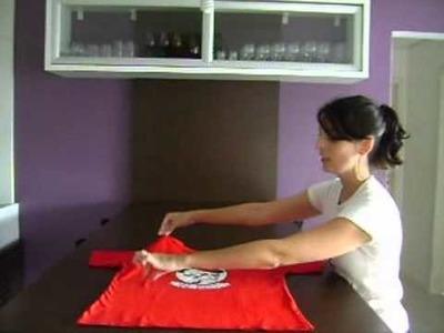 Menu de Estilo - Como dobrar camiseta?
