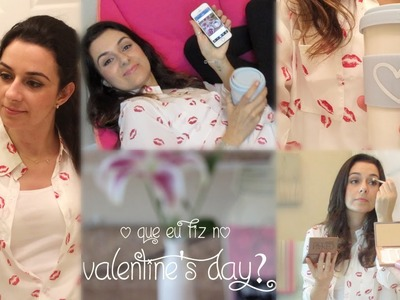 O que eu fiz no Valentine's Day? Receita, maquiagem e café  #LuckStars - Josi Daresbach