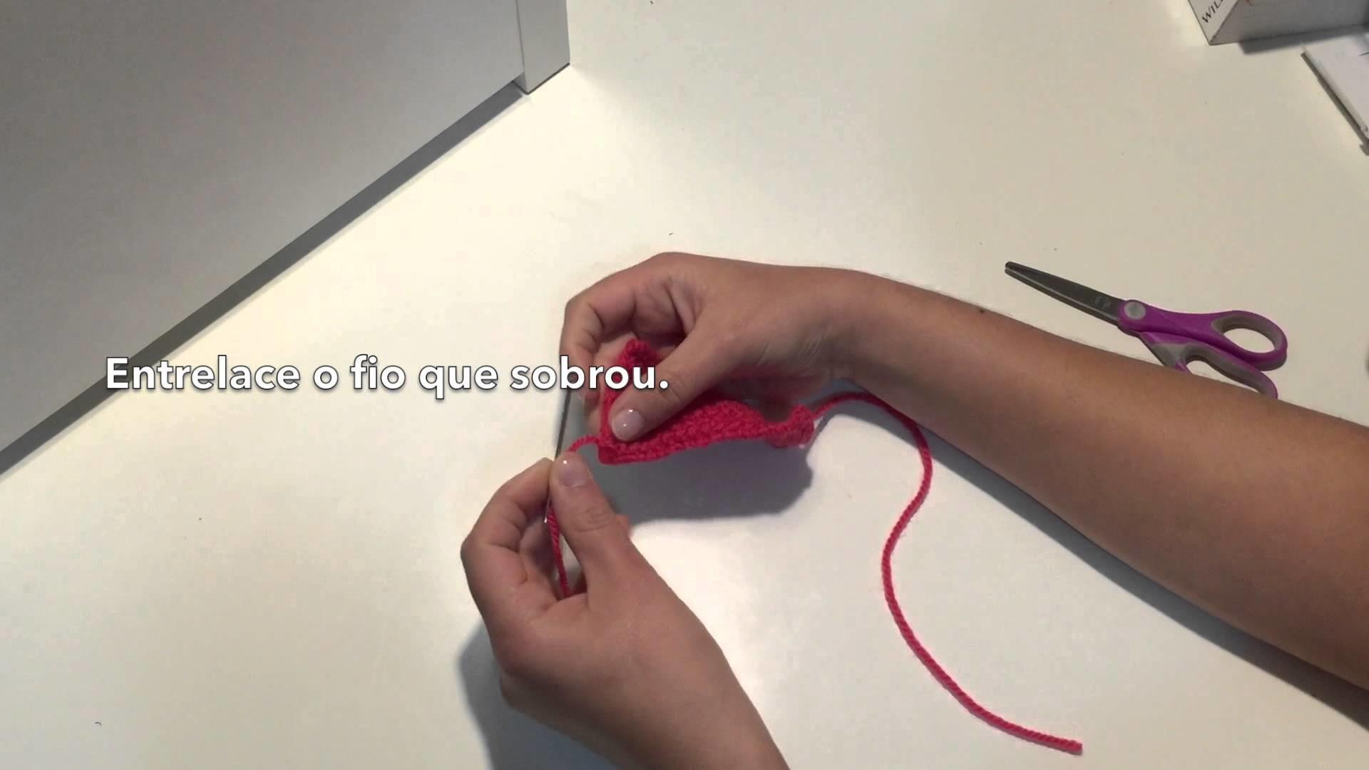 Super Fácil laço de Tricô (DIY)