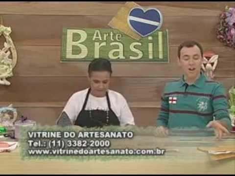 ARTE BRASIL -- DEIZE DE PAULA -- FLOR KAMAL KADAI (13.04.2011 - Parte 1 de 2)