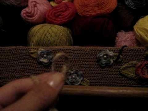 Cachecol em Crochê Peruano - 01.03