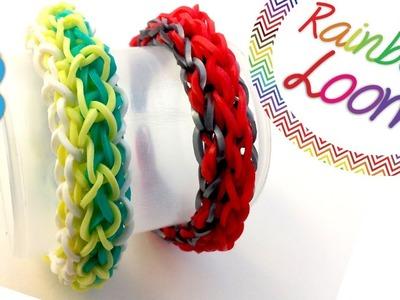 Como fazer pulseiras de elástico - Swap Force