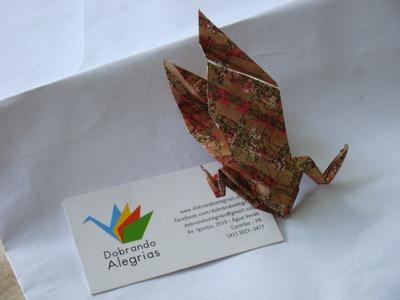 Como fazer um Dragão de Origami