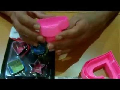 Compras, moldes de silicona y varios para manualidades