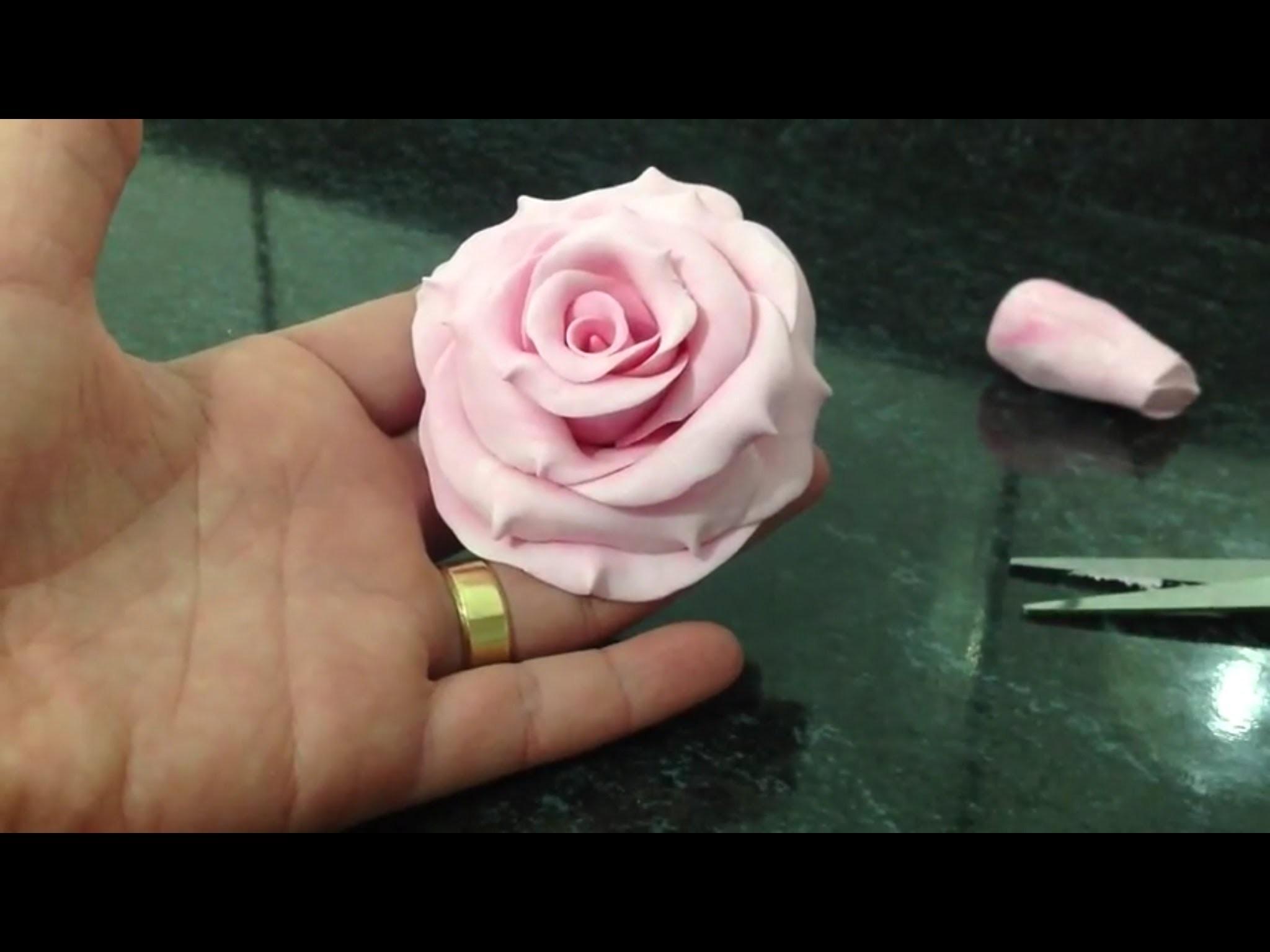 Dicas B e K artes - Rosa de Biscuit