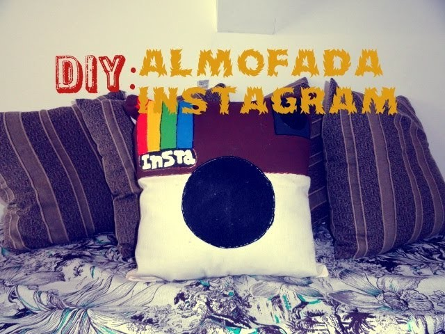 DIY: Almofada Instagram