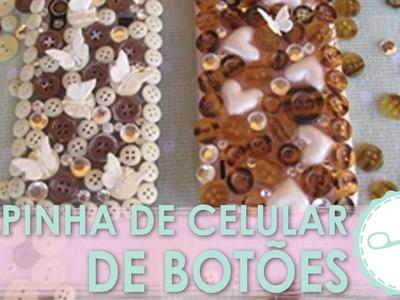 DIY Capinha de Botão (Case Personalizada) - wFashionista