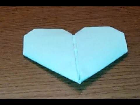 DIY: coraçao origami